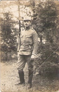 Iosif Horodnic (ciras) jandarm in armata austro-ungara